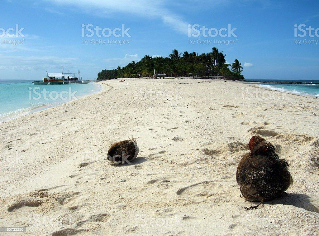 Calangaman Island stock photo