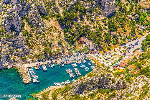 Calanque de Morgiou at les Calanques national park in France