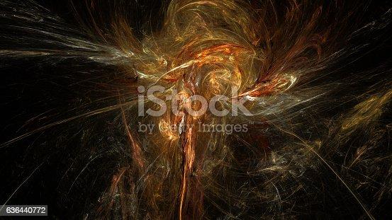 istock Calaxy nebula abstract background 636440772