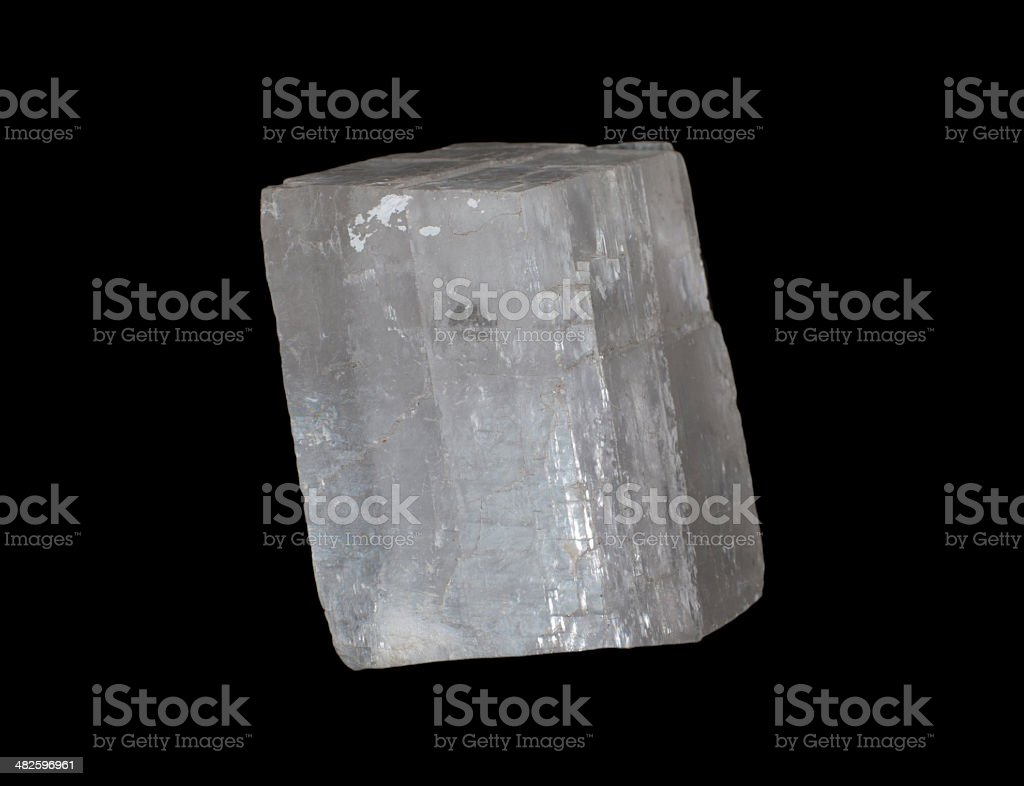 calcite knockout stock photo