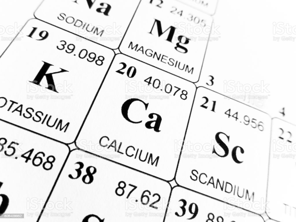 Calcium on the periodic table of the elements stock photo more calcium on the periodic table of the elements royalty free stock photo urtaz Choice Image