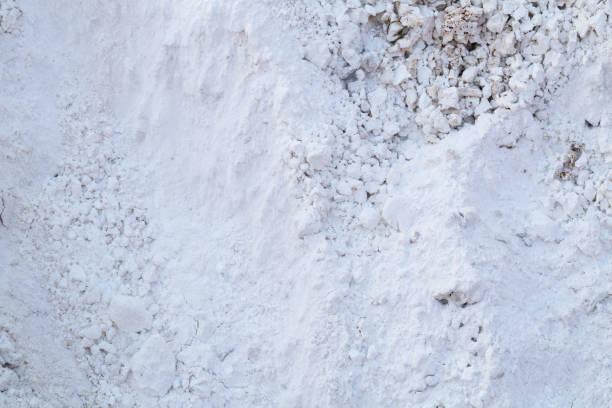 calcium oxide stock photo