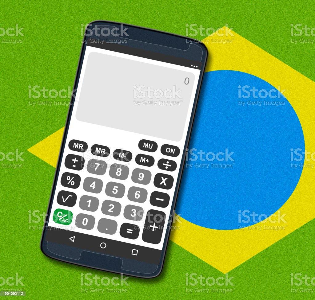 calculation - Royalty-free Brazil Stock Photo