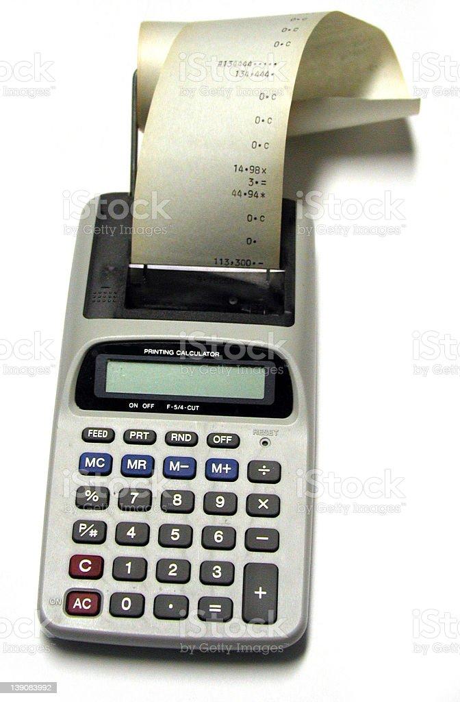 Calculator 1 royalty-free stock photo