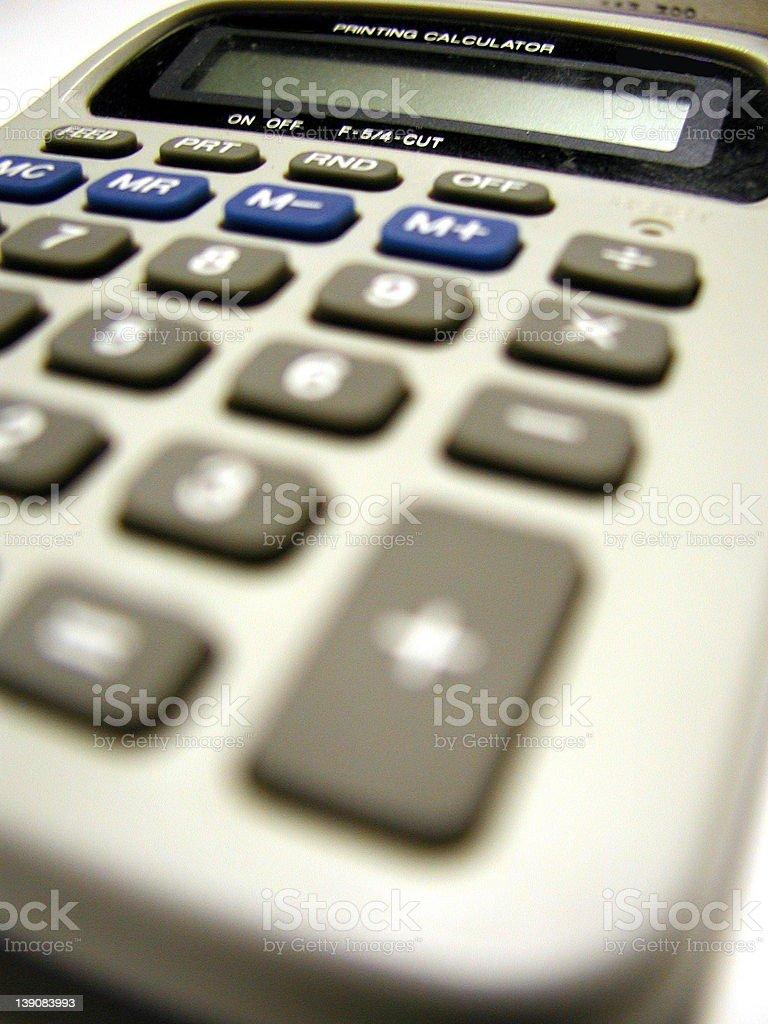 Calculator 3 royalty-free stock photo