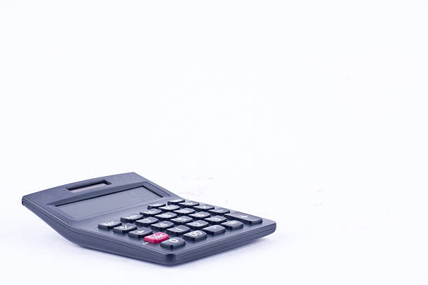 calculator for calculating the numbers accounting accountancy finance business calculation – Foto