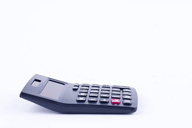 calculator for calculating the numbers accounting accountancy business calculation – Foto