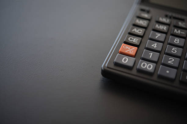 calculator - foto stock