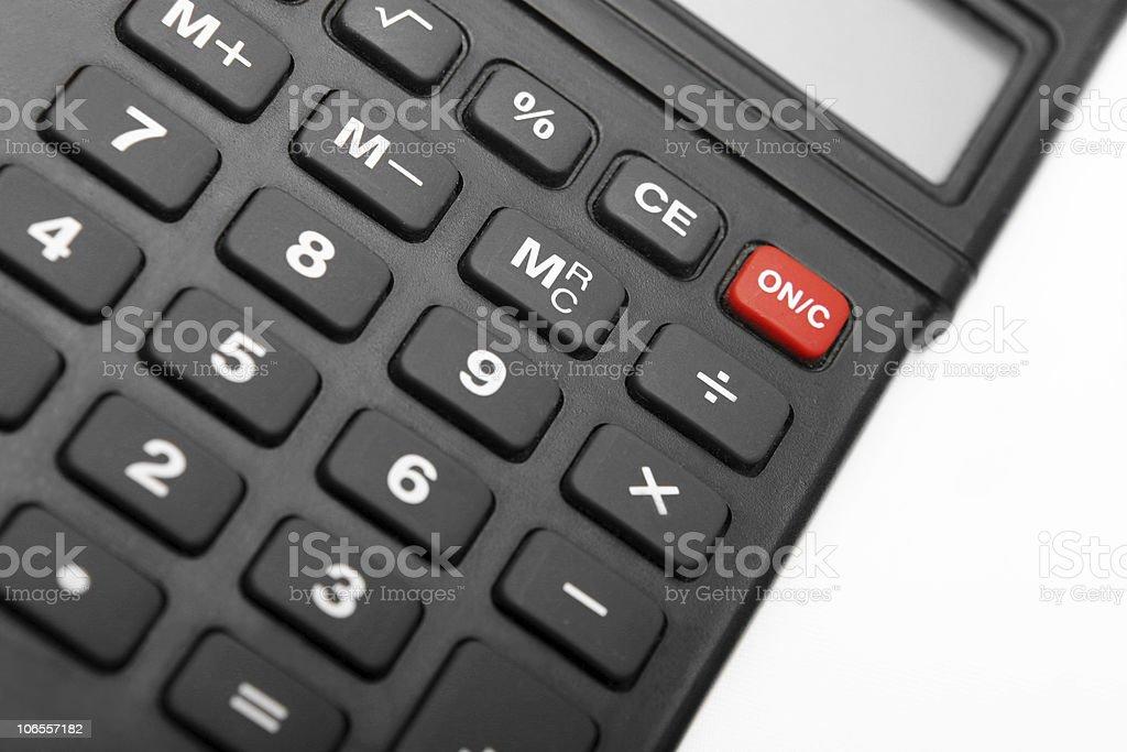 Calculator royalty-free stock photo