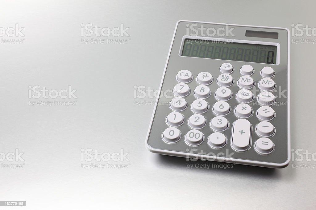 Calcolatrice - Foto stock royalty-free di Accuratezza