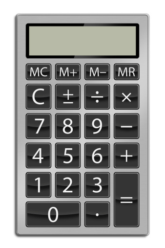 Calculator Stock Photo - Download Image Now