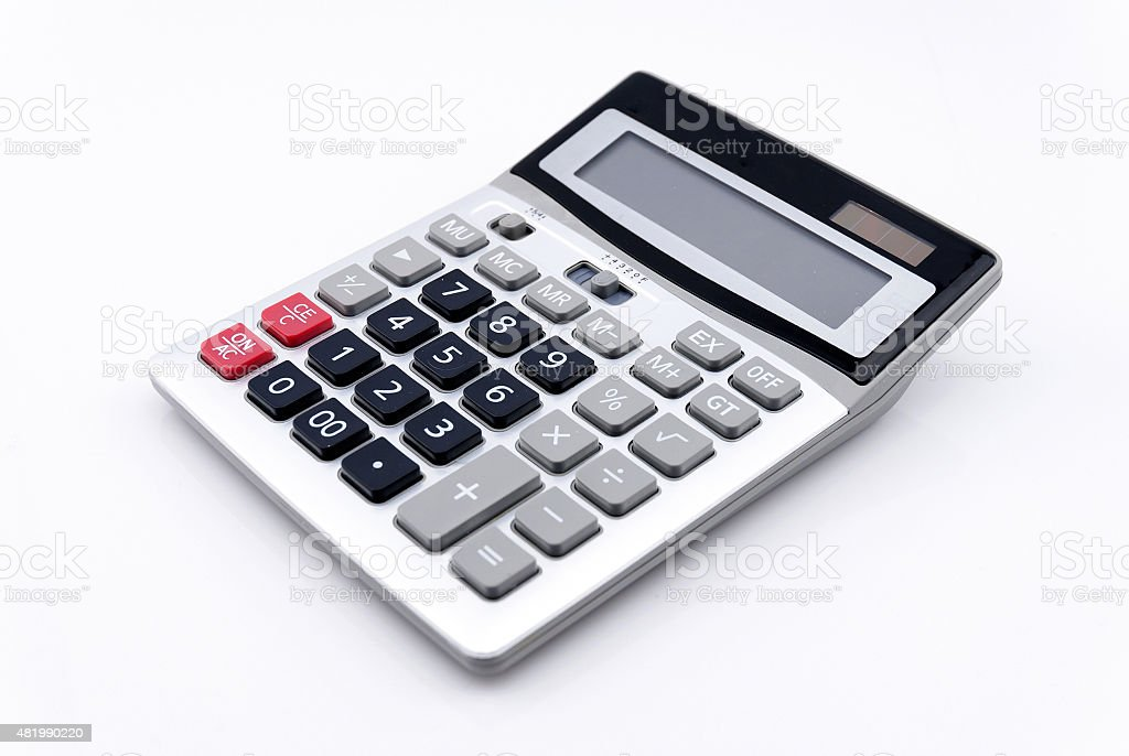 calculator stock photo