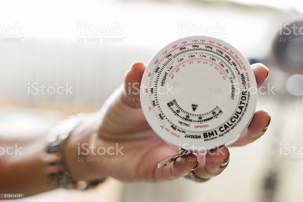 BMI Calculator stock photo