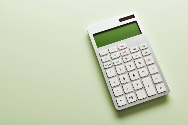 Calculator. - foto stock