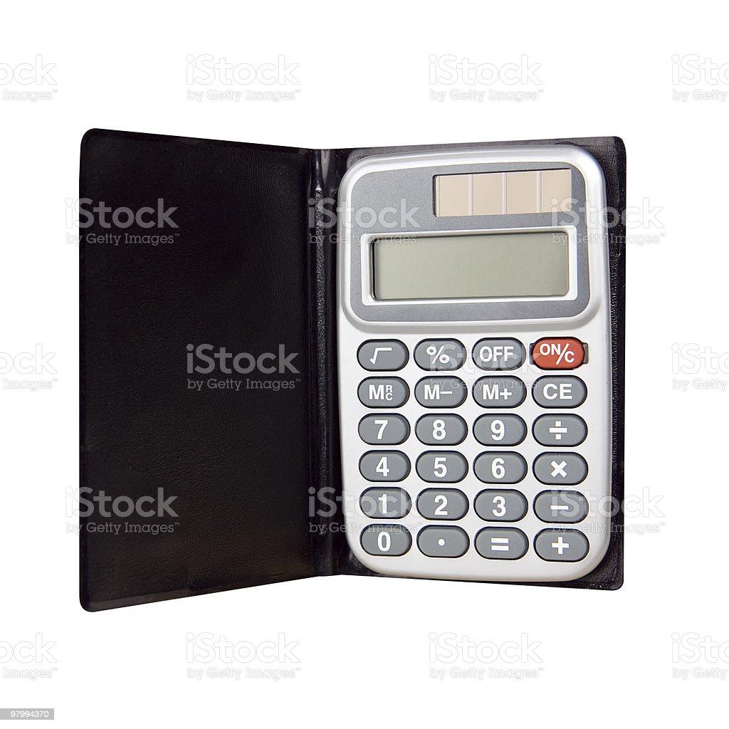 Calculator royalty free stockfoto