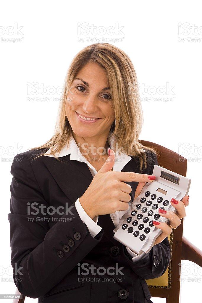 Calcolatrice foto stock royalty-free