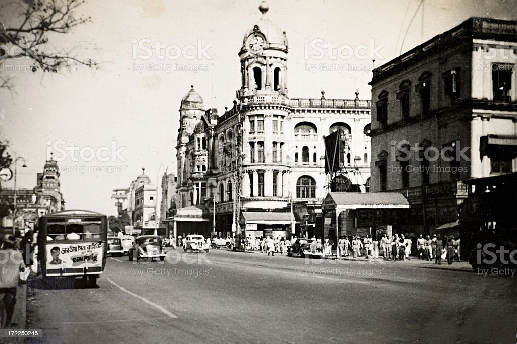 Calcutta royalty-free stock photo