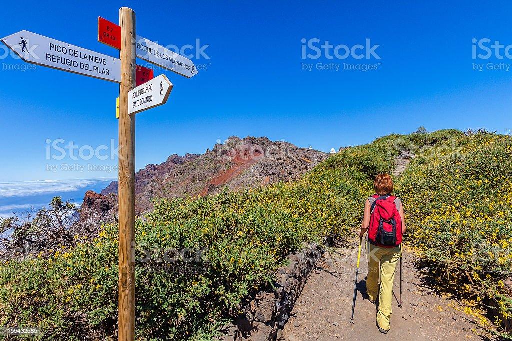 Caldera de Taburiente National Park, La Palma stock photo