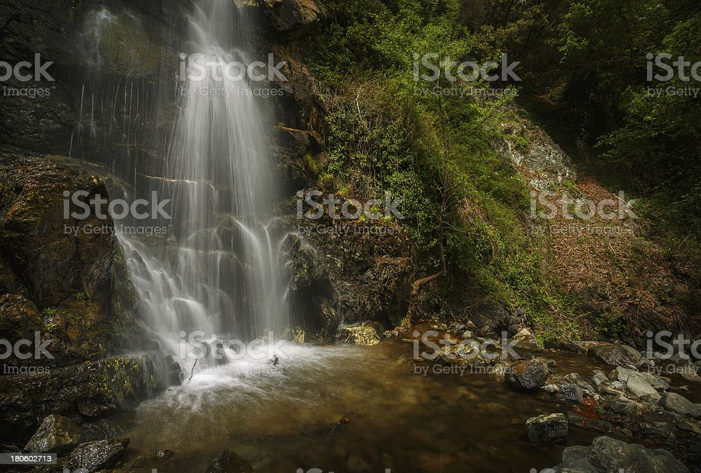 Caledonia falls, Cyprus royalty-free stock photo