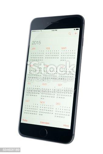 istock Calendar App. 2015 534605189