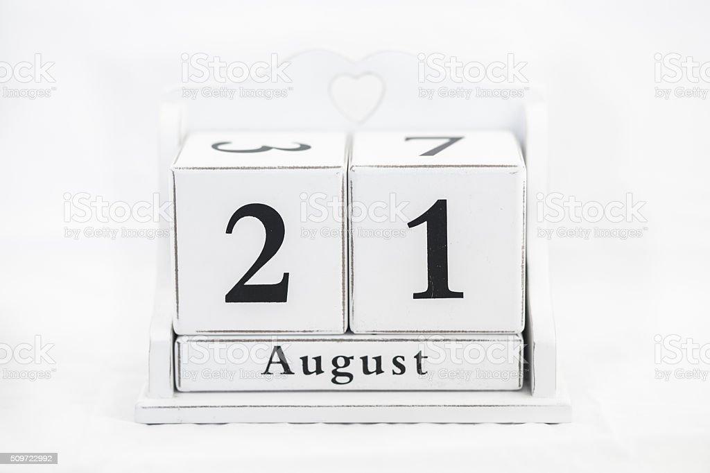 Kalender August Nummer – Foto