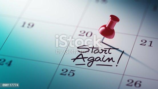 istock Calendar Concept 698117774