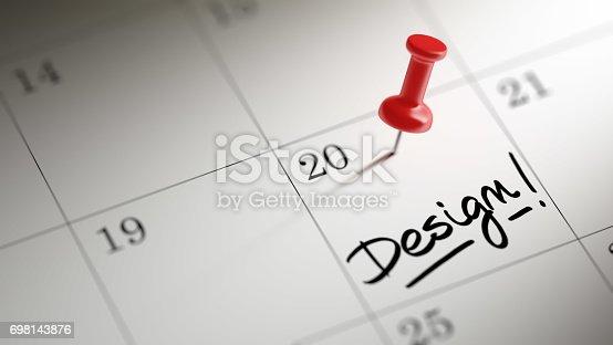 istock Calendar Concept 698143876