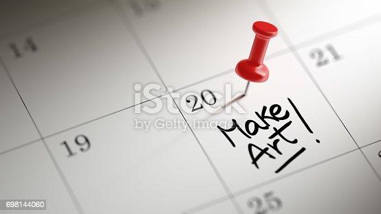 istock Calendar Concept 698144060