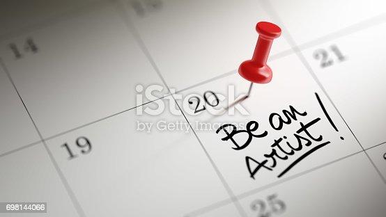 istock Calendar Concept 698144066
