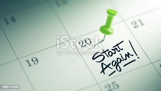 istock Calendar Concept 698145400