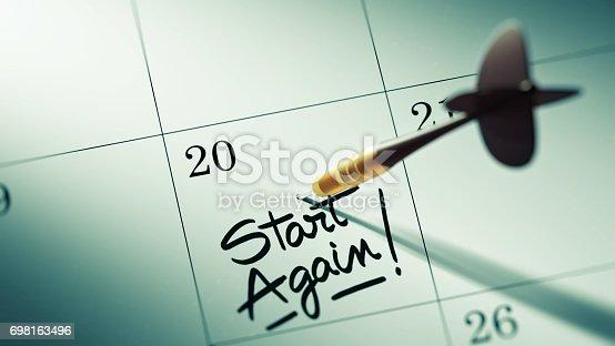 istock Calendar Concept 698163496