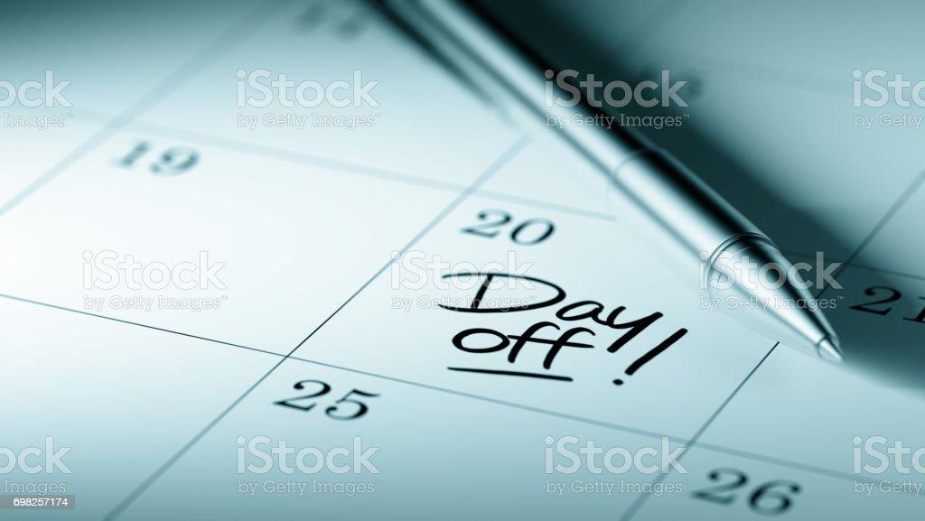 Calendar Concept stock photo