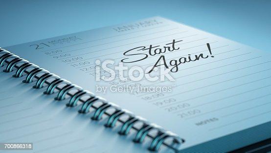 istock Calendar Concept 700866318