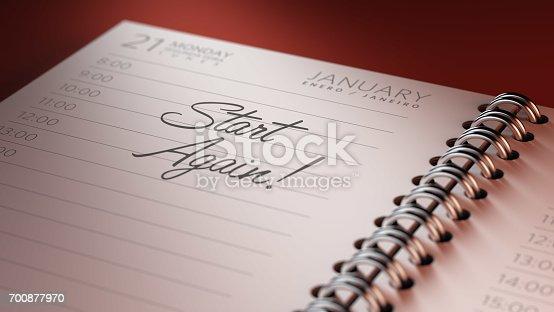 istock Calendar Concept 700877970