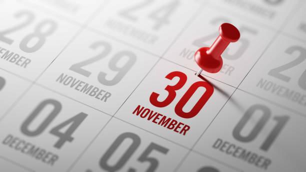Conceito de calendário - foto de acervo