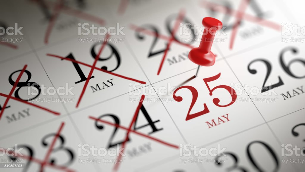Calendar Concept - Royalty-free Annual Event Stock Photo