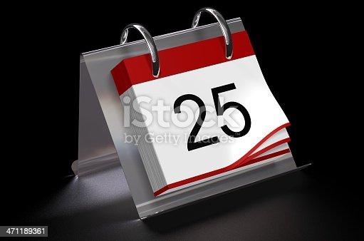 870618752 istock photo Calendar day 25 471189361
