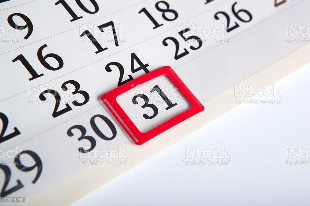 Calendario Con Numero Giorni.Giorni Di Calendario Con Numeri Primo Piano Fotografie