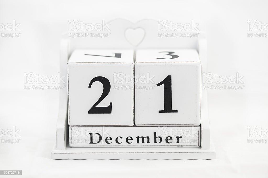 Kalender Dezember Nummer – Foto