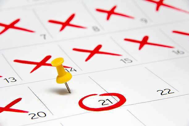 calendar event pin 2016 date - number 21 stock photos and pictures