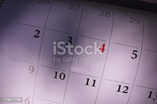 823410098 istock photo Calendar for 2020 1176171192