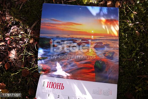 823410098 istock photo Calendar for 2020 1176171201