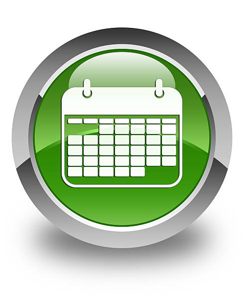Blank Calendar Icon Green : Royalty free reminder icon pictures images and stock