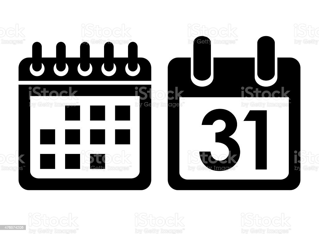 Royalty Free Calendar Icon Pictures Images And Stock Photos Istock