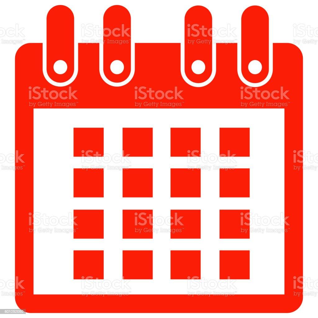 calendar icon stock photo