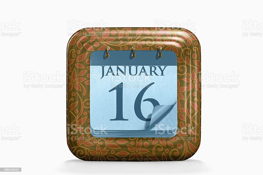 Calendar, January Month royalty-free stock photo