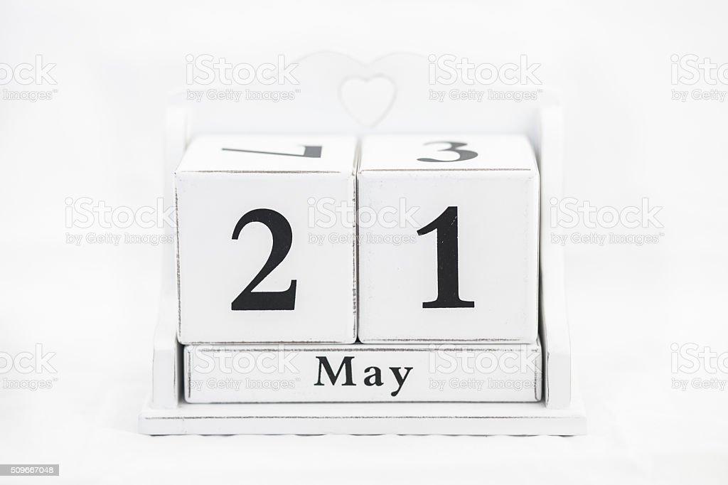 Kalender kann Nummer – Foto