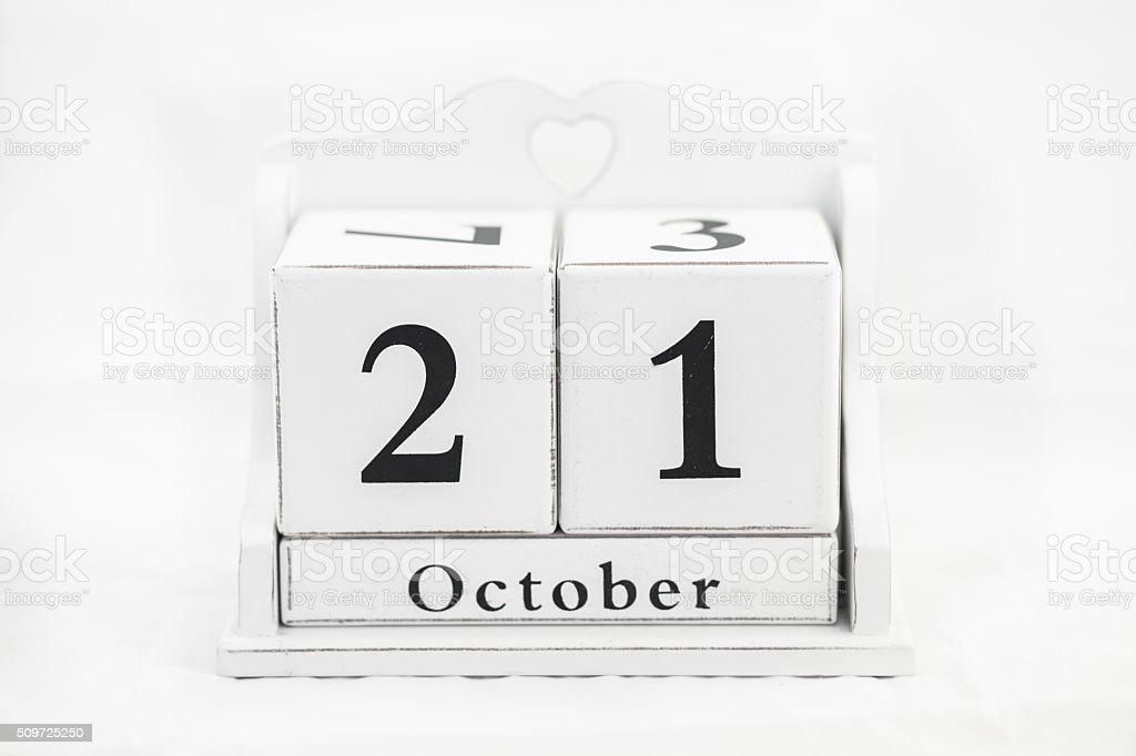 Kalender Oktober Nummer – Foto