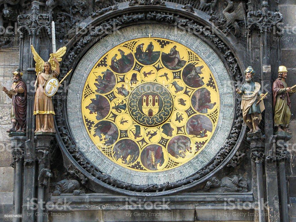 Calendario Repubblica.Calendario Del Medievale Orologio Astronomico Di Praga
