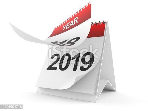 istock 2019 Calendar 1026904716
